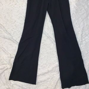 H&M Pants - H&M Black flared dress pants, high waisted